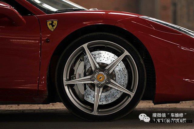 汽车刹车系统的组成   其实,从刹车系统的总体结构上来看并高清图片